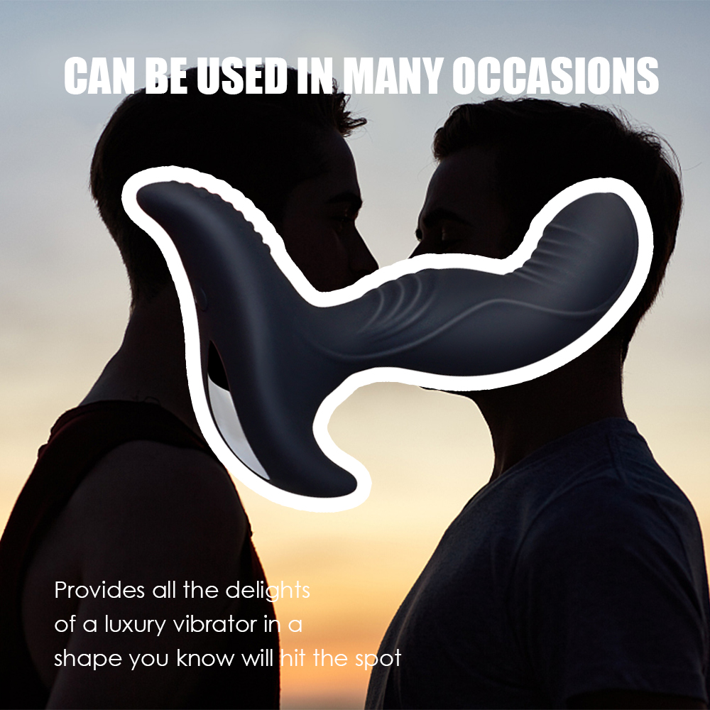 _02USB Charging Wireless Remote Anal Plug Vibrator Prostate Massager Man Masturbator Silicone Butt Plug Vibrator Gay Anal Sex Toys