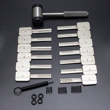 Free shipping HUK Commonly Used Bump Key Lock Tool Set(China)