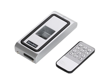 125khz WG26 output metal Fingerprint Biometric access control rfid reader for gate door access control with 20 tags