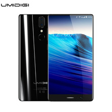 Umidigi Crystal Borderless Smartphone MTK6750T Octa-core 4GB RAM 64GB ROM Metal Bezel-less Frameless Android Mobile Phone