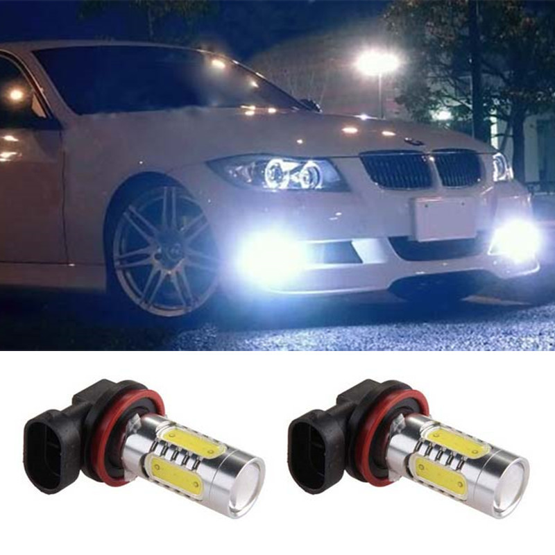 2pcs Led COB H11 Lighting 7.5W Car Driving Fog Light Lamp Bulb For BMW E90 E39 325 328 335i M mini SPORT Car Accessories<br><br>Aliexpress