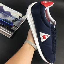 2017 Latest Version Le Coq Sportif Men's Running Shoes Sneakers High Quality Men's Sports Shoes Navy Blue/White Color 1