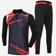 New outdoor leisure Men Women Soccer Survetement Football Jerseys Futbol Jackets Sports Running Coats Training suit DIY printing(China)