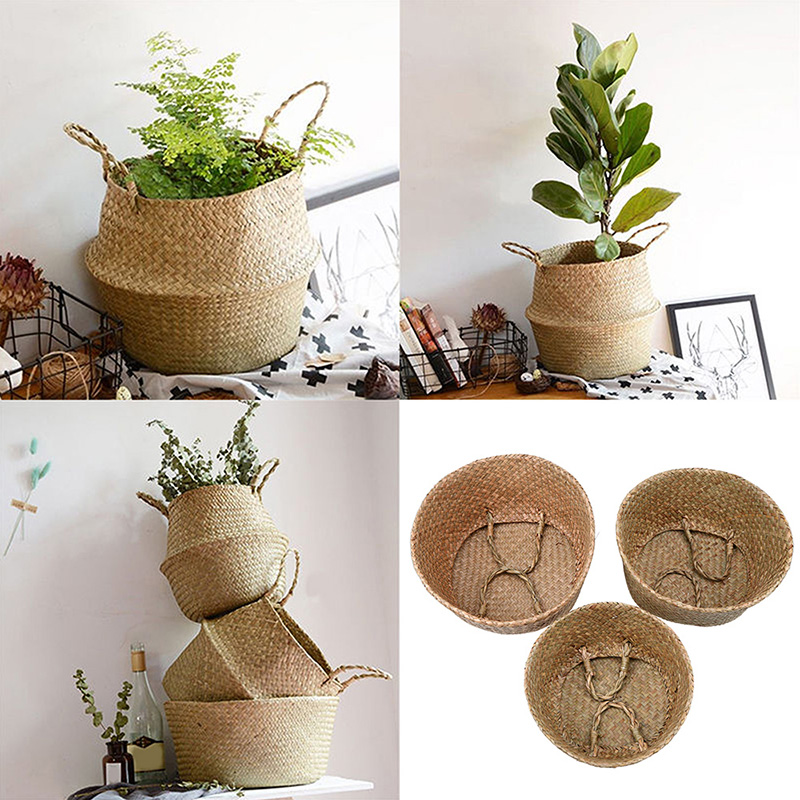 Straw Flower Hanging Baskets : Buy wholesale wicker hanging baskets from china