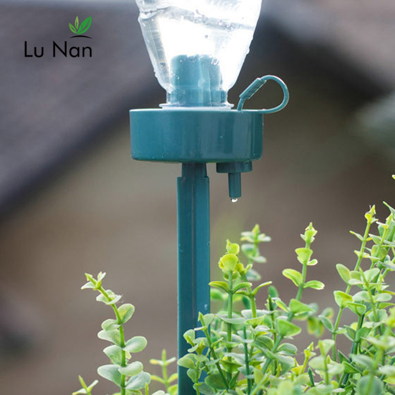 4PCS Automatic Watering Device Lazy DIY Bottle Seepage Plant Adjustable Flow New