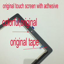 Original Front Touch Panel For Ipad 2 A1395 A1396 A1397 Touch Screen Digitizer Assembly Home Button With Frame