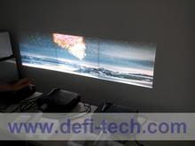 DEFI  4 screen Interactive floor system support 4 projectors with 16 effects now