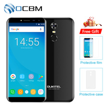 "Oukitel C8 5.5""HD 18:9 Infinity Display Android 7.0 2GB RAM 16GB ROM MTK6580A Quad Core Fingerprint 13MP 3000mAh Mobile Phone(China)"