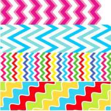 pick color size 16 25 38 50 75 mm width Chevron Stripe waves Printed polyester Grosgrain Ribbon or Satin Ribbon CH02