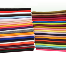 100CM Cotton Knit Rib Fabric For DIY Collar Hem Cuff Of Sportswear Underwear Coat And Pants 21 Colors Available