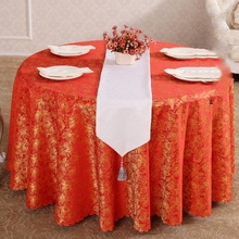 Europe Style High-grade Floral Round Table Cloth Tablecloths Tableware Wedding Party Hotel Banquet Home Decor Toalhas De Mesa CT