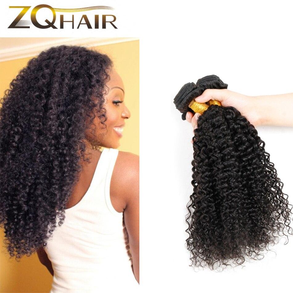 Spring Queen Hair Products Brazilian Virgin Curly Hair Weaves 4 bundles 7a Virgin Afro Kinky Curly Hair human braiding hair bulk<br><br>Aliexpress