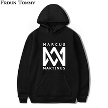 Martinus Frdun Tommy 2018 Marcus Camisola Hoodies Outono Mulheres/Homens Hoodies Ouewear Pullovers Camisola Casual Tops Roupas(China)