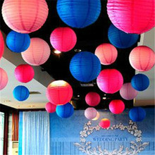 30 colours 10inch 1pcs  Chinese Paper Lanterns For Party Wedding Decoration Supplies  Balloon Wedding Party Decoration