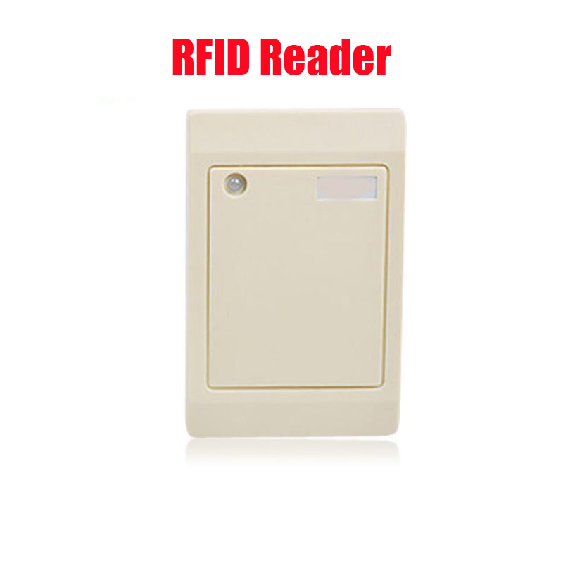Free shpping 125Khz RFID Reader Card 26bits / 34 bits data output RFID Tag Reader WG26  RFID Reader  ID Card Reader <br><br>Aliexpress