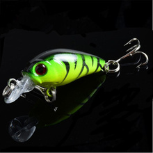 Hot Sale 4.5cm/4g Popper Fishing Lure Top water Crank bait hard Fish Bait For Saltwater Freshwater 6 Colors Optional FA-312