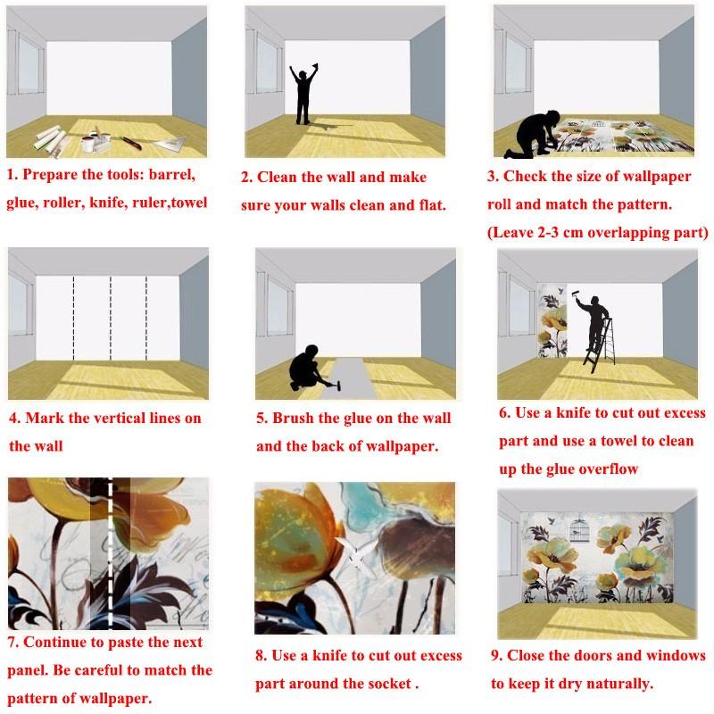 HTB1sUc6SFXXXXaIapXXq6xXFXXXx - Custom High-quality wallpaper nordic flamingo unicorn For Children Room