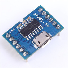 MY1680 MP3 Voice Module SCM Serial Music Chip Board Control For USB Download Flash Storage Music Play