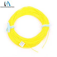 Maximumcatch Running Fly Line 0.6mm 0.7mm 0.9mm Orange Or Yellow Fly Fishing Line(China)