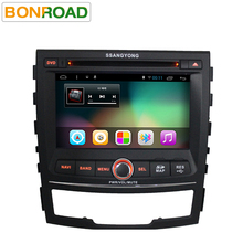 Quad Core 2G RAM Android 6.0 Car Radio For SsangYong Actyon/Korando 2010-2012 With 1024*600 Capacitive Autoradio Stereo Headunit
