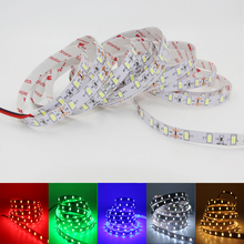 1/2/3/4/5M LED Strip Light 5630 5730 SMD DC 12V Non waterproof Stripe String Fita Diode Tape lamp warm White blue green red(China)