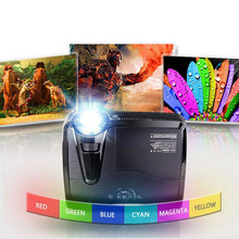4500 Lumens DLP 3D Short Throw Projector HDMI Holographic Video Projector