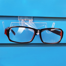Wholesale 20pcs Plastic Glasses Sunglass Display Stand Holder For Slatwall Airplane Shape 120330OS-08