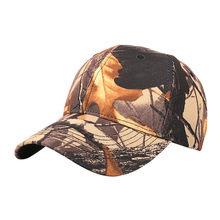 Camuflaje casquillo gorra de béisbol al aire libre ocasional del sombrero  del casquillo deportes casquillo de ea2812b9d02