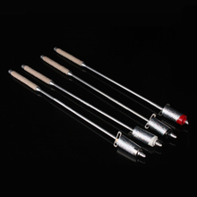 Flaming Torch To Cane Magic Tricks ,Black red white silver Colors Metal Appearing Cane Stage,Illusions,Accessories 81329(China)