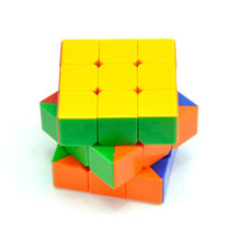 3x3x3 Magic Cube Cubic Speed 6 Colour Sticker 57mm wild goose wings cube Friends Gift  FL