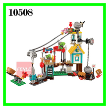No.10508 405pcs Birds Pig City Teardown boys and girls Building Bricks Blocks Sets Education toys for children Compatible 75824