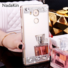 Buy Luxury Bling Diamond Rhinestone Plated Soft Mirror Case Huawei Nova 2 Mate 10 V9 Play Y3II Y5II Honor Enjoy 7 Plus 6S 6C for $1.69 in AliExpress store