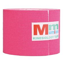 New Sale Mumian 5 cm x 3 m Intramuscular effect Tex Tapes Tape Athletic Strapping Intramuscular effect Tape with Case rose Red(China)