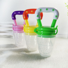 1 pcs pacifier baby Nipple feeding supplies pacifier clip para Fresh Food Infant type Tool Bell Safe Baby Bottles 3 Size solid(China)