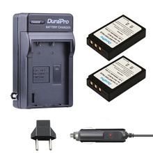 DuraPro 2pc PS-BLS1 PS BLS1 Battery + Charger for Olympus Evolt E-400 E-410 E-420 E-450 E-600 E-620 PEN E-P1 E-P2 E-P3 E-PL1