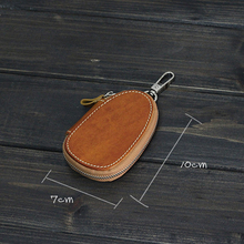 DABANSHANG Classic Key Bag High Quality Leather Key Package Luxury Gift Coin Purse Functional Key Bag Housekeeper Holders Bag