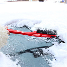 Dual use Car Vehicle Durable Snow Ice Scraper Snow Brush Shovel Removal For Car Motorcycle Truck Car Accessories winter brush US(China)