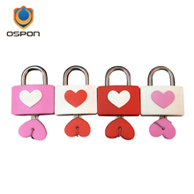 Valentine 's Day gift love heart lock, South Korea Nanshan lock love lock, with key(China)