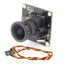 1pcs HD 700TVL Sony CCD PAL or NTSC FPV Camera OSD D-WDR Mini CCTV PCB FPV Tiny Wide Angle Camera 2.1mm Lens Dropship(China)