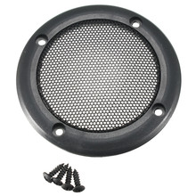 3.5 Metal Mesh Grille Speaker SubWoofer Covers Hull Protection CERLE Screws