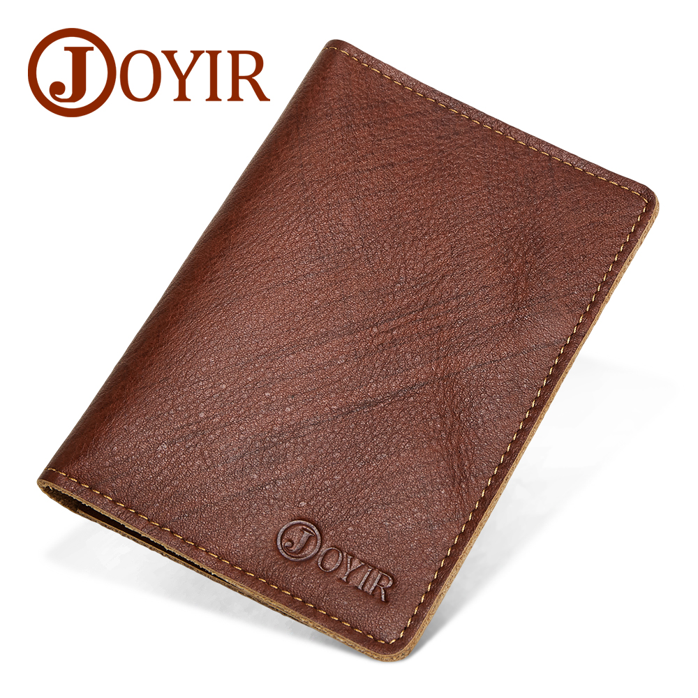 Men card holder wallet leather Passport Covers Prevent RFID theft Credit Id Card Folders male multifunction Passport Wallets