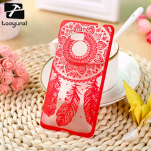 Hard Plastic Phone Cases For HTC Desire 600 Cases 606 606w For HTC 600 Cover Dream Cather Mobile Phone Accessories Bags Hood
