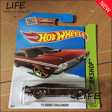 Free Shipping Hot Wheels 71 Dodge Challenger Car Models Metal Diecast Cars Collection Kids Toys Vehicle For Children Juguetes 72(China)