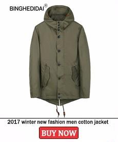 2017 winter new fashion men cotton jacket men fashion olive green outwear jacket men fashion casual quality cotton material