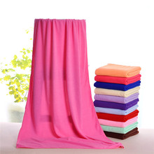 2017 Factory direct 70x140cm Korea nano microfiber absorbent towel three seconds quick-drying bath towel beach towel N647