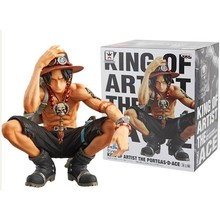 Japanese Anime One Piece King Of Artist Figure Cartoon POP Anime Portgas D Ace PVC Action Figure Collectible Model Toy brand new