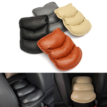 2016 New Universal Car Auto Arm Rest Liner Pad Topping Mat Console Storage Box Cover Cushion Black Brown Beige