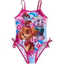 2017 New Paw Swimsuit One Piece Girls Patrol Swim Wear for Girls Children Clothes Swim Suit Summer Style baby girl clothes