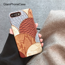 GlamPhoneCase For iPhone X 7 8 6 6s Plus Stitching Color Case Hard PC Embroidery Baseball Phone Cover Back Case Capa(China)