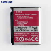 SAMSUNG Original Replacement Battery AB653039CC For Samsung U900 E950 F609 E958 U908E U808E Authentic Phone Battery 880mAh(China)